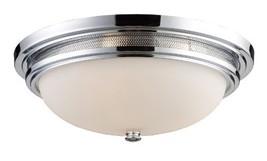 Elk 20131/3 Flush Mount 3-Light in Polished Chrome - £155.51 GBP