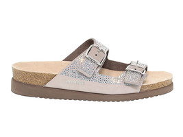 Flache Sandalen MEPHISTO HARMONY DIAMS in grigio crystal - Schuhe Damen - $139.77