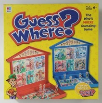 Guess Where Board Game 2004 Hasbro  - $18.69