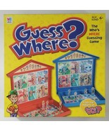 Guess Where Board Game 2004 Hasbro  - $18.69