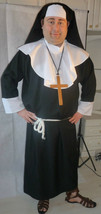 "Nun Costumes - MALE SIZES  Deluxe - fit up to 50"" chest - $31.82"