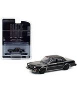 1987 Plymouth Gran Fury Black Bandit Series 24 1/64 Diecast Model Car by... - $31.75