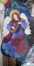 Bucilla Felt 18 Inch Christmas Stocking Kit Maria Stanziani Heavenly Sou... - $79.19