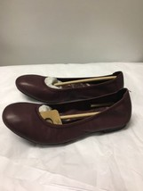 BORN Rozalee Leather flats, Burgundy, sz. 6.5 - $47.02