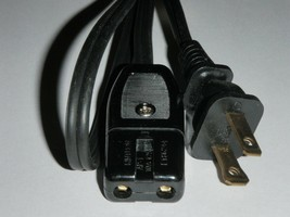 """Power Cord for Rival Indoor Smokeless Grill Model 5740 only (2pin) 36"""" - $12.64"""