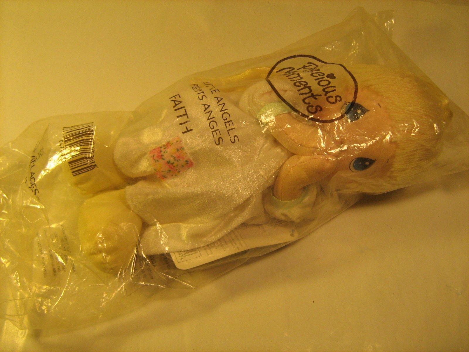 "*New* 10.5"" PRECIOUS MOMENTS 2002 Plush Doll FAITH Little Angels [Y17a] - $28.71"