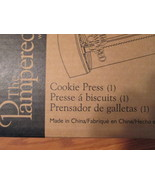 Pampered Chef Cookie Press New In Box TF428/ALS - $12.93