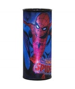Amazing Spider-Man Wrap-Around Art Cylindrical Changing Colors Night Lig... - $16.44