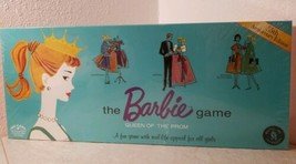 Mattel Barbie Queen of the Prom Board Game 35th Anniversary Edition New Sealed  - $64.34