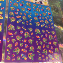 PICK1*Lisa Frank Sticker Sheet Minis Kitten Fruit Panda Peekaboo Koala Ice Cream image 6