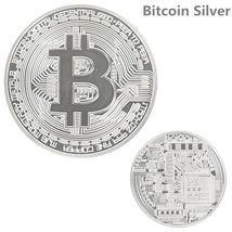Commemorative Collectible Bitcoin Set - 3 Pieces Total w/Random Color and Design image 3