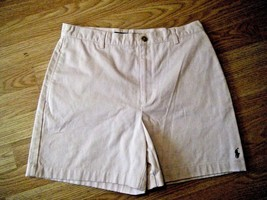 Ralph Lauren Sport Beige Cotton Shorts Size 8 - $17.41