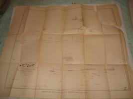 Antique 1854 Map of the Andes South America U.S. Navy original rare - $59.39