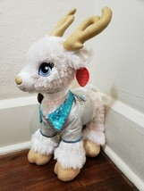 Build-A-Bear White Reindeer Plush with Christmas Music - $19.34