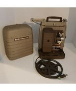 Vintage Bell & Howell 253-A Movie Film Projector 8mm  - $59.40