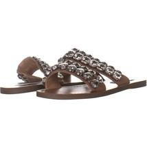 Steve Madden Reason Slide Sandals 416, Natural Multi, 5.5 US - $27.83