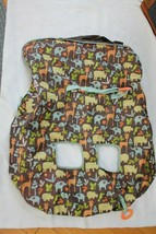 Infantino Compact 2-in-1 Shopping Cart Cover, Neutral, Safari Print  - $7.92