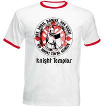 KNIGHT TEMPLAR 53 - NEW COTTON RED RINGER TSHIRT - $19.53
