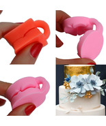 Silicone 3D Rose Fondant Cake Chocolate Sugarcraft Mould Embossing Mold ... - $9.20