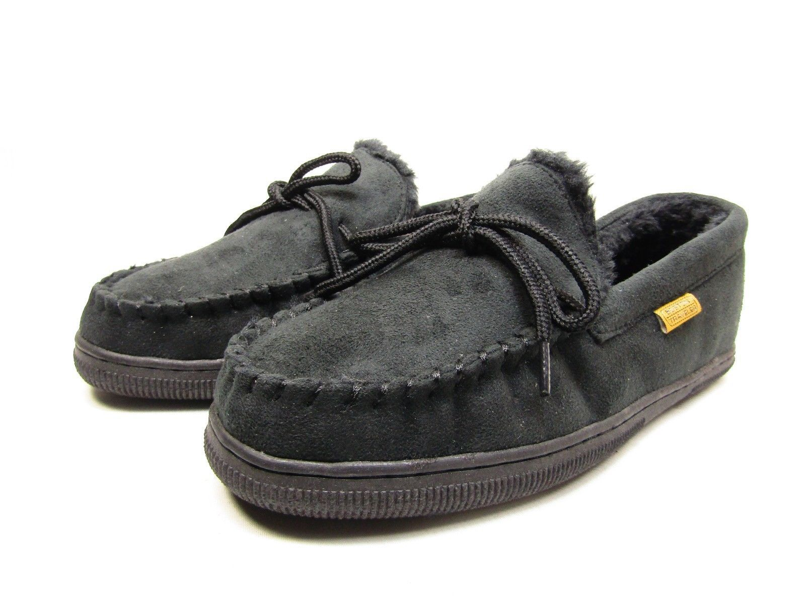 Primary image for Boston Traveler  Moccasin Slippers 212M Black Size 11
