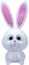 Ty Beanie Babies Secret Life of Pets Snowball The Bunny Regular Plush - $9.79