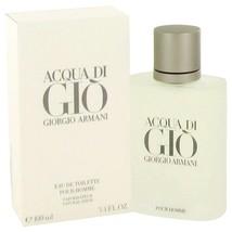 Acqua Di Gio By Giorgio Armani Eau De Toilette Spray 3.3 Oz 416544 - $85.92