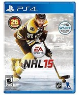 NHL 15 (Sony PlayStation 4, 2014) DISC IS MINT - $5.28