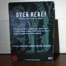Over Here! 001 Plot Twist Horrorclix - $0.99
