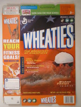 MT WHEATIES Box 2004 18oz MICHAEL PHELPS Swimming [G7E12b] - $7.17