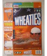 MT WHEATIES Box 2004 18oz MICHAEL PHELPS Swimming [G7E12b] - $7.17