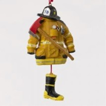 Kurt Adler 4.5- Firefighter Uniform Christmas Ornament - $27.80