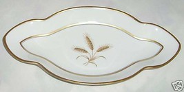 ROSENTHAL WHEATFIELD RELISH CELERY TRAY PLATE WHEAT WINIFRED - $21.02