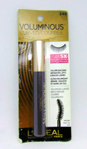 L'OREAL VOLUMINOUS CURVED Volume Building Mascara No.340 Black 0.28oz./8ml - $7.43