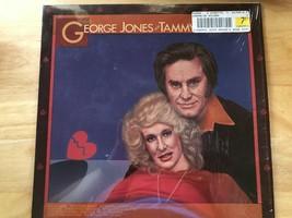 George Jones & Tammy Wynette vinyl record album 1981 country golden ring - $9.87