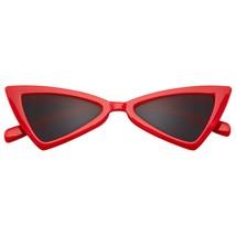 Occhiali da Sole Donna Triangolo UV Rétro Occhi di Gatto - $11.46