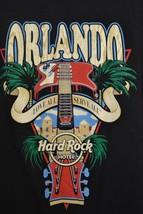 Hard Rock Hotel Orlando T-Shirt Love All Serve All Guitar Size Medium - $8.11