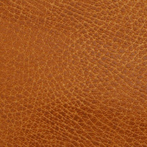 Weathered Faux Leather Copper Saddle Brown Upholstery Fabric BY THE YARD... - $19.00