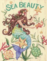Counted Cross Stitch Kit by Dimensions Vintage Mermaid - $55.46