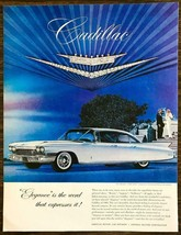 1959 PRINT AD for the 1960 Cadillac Elegance is the Word That Expresses It - $11.89