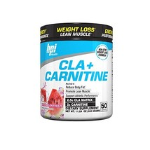 Bpi Health CLA + Carnitine Non-Stimulant Weight Loss Supplement Powder, ... - $32.38