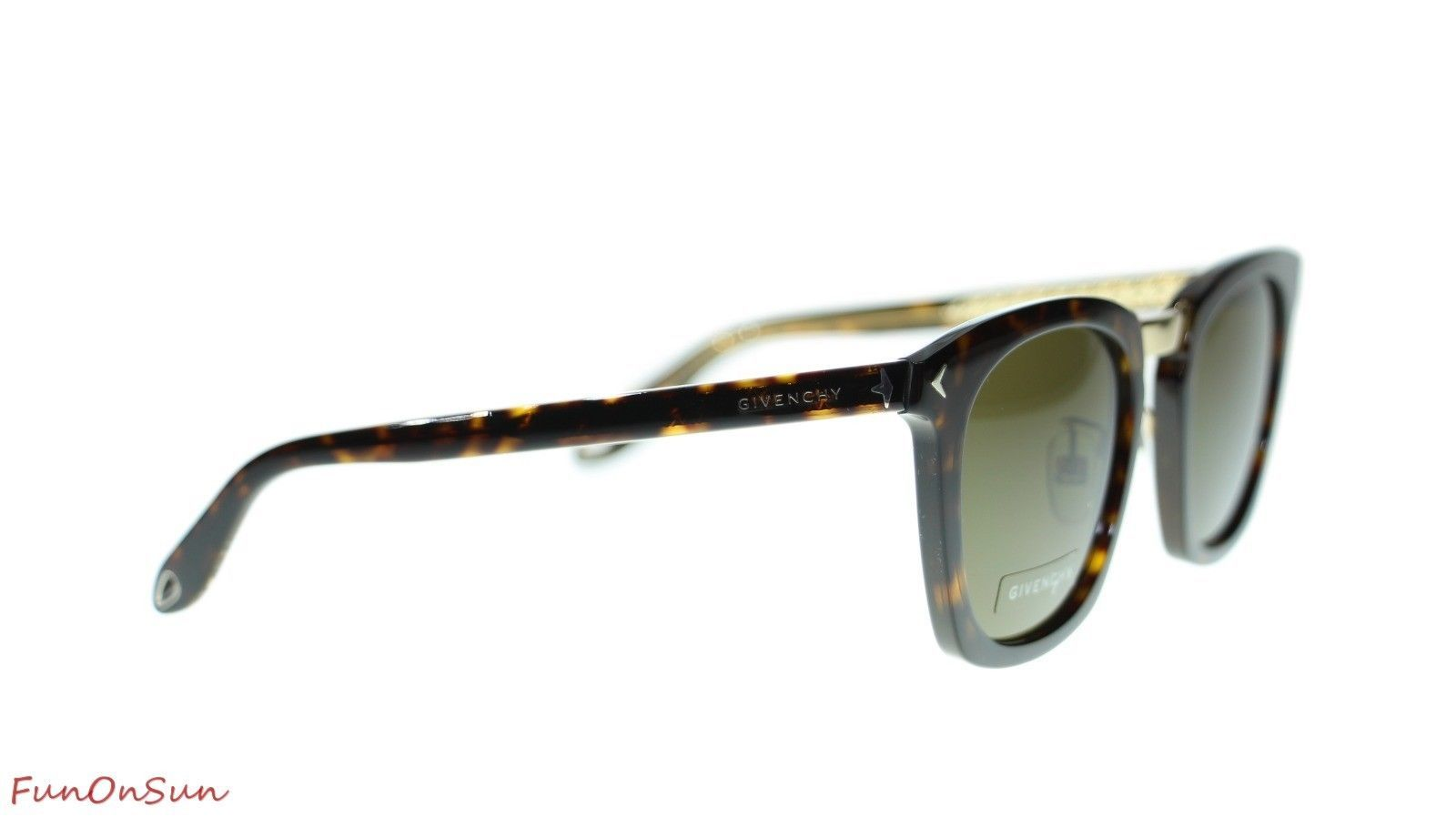 Givenchy Women's Sunglasses GV7065 WR9 Havana Brown/Brown Lens Square Authentic