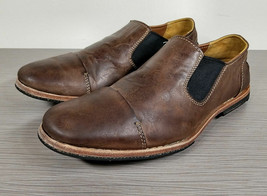 Timberland Lost History Venetian Loafer, Brown Leather, Mens Size 7 / 40 - $89.09