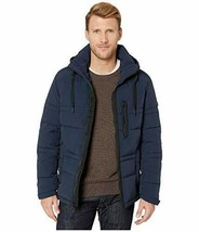Marc New York by Andrew Marc Men's Long Sleeves Huxley Jacket (Blue, M) - $65.33