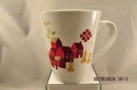 STARBUCKS 2013 Christmas Village Coffee Tea Mug Cup - $12.19