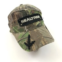 REALTREE Camouflage Strapback Trucker Hat Distressed Camo Baseball Cap F... - $18.07
