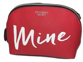 Victoria's Secret Cosmetic Bag Makeup Pouch Case Mine Color Red NWT - $30.39