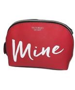 Victoria's Secret Cosmetic Bag Makeup Pouch Case Mine Color Red NWT - $30.39