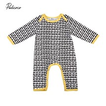 2017 Baby Rompers Newborn Baby Clothes Long Sleeve Animal Cute Boy Cloth... - $9.69