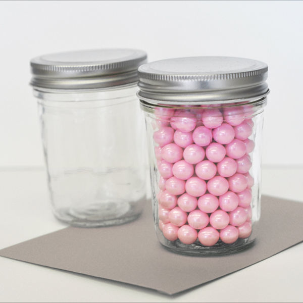 50 DIY Mini Mason Candy Jar Birthday Baby Shower Bridal Wedding Favor Container
