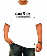 Goodfellas Mens White T-Shirt - $9.49+